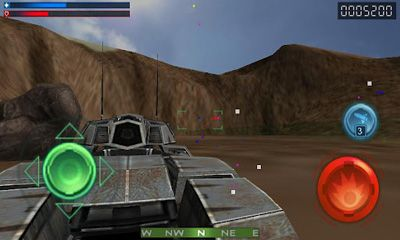 Screenshots von Tank Recon 3D für Android-Tablet, Smartphone.