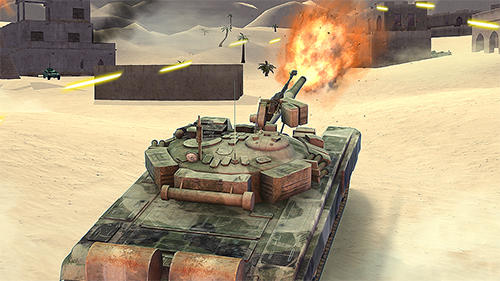 Tank shooting attack screenshot 2