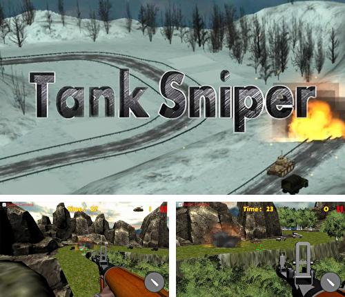 Tank shooting: Sniper game