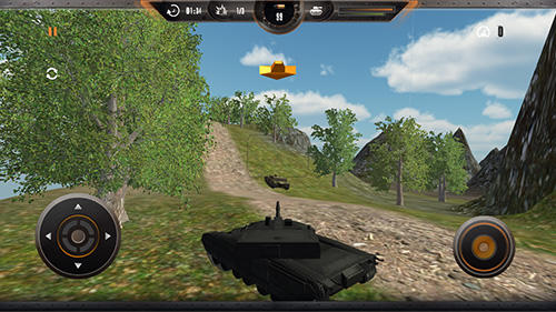 Jogue Tank simulator: Battlefront para Android. Jogo Tank simulator: Battlefront para download gratuito.