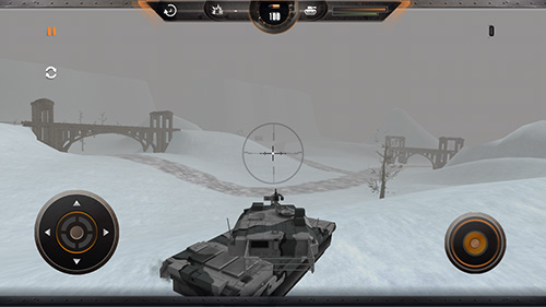 Screenshots do Tank simulator: Battlefront - Perigoso para tablet e celular Android.