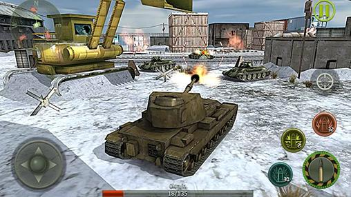 Kostenloses Android-Game Panzerschießen: Kampf ums Überleben. Vollversion der Android-apk-App Hirschjäger: Die Tank shooting: Survival battle für Tablets und Telefone.