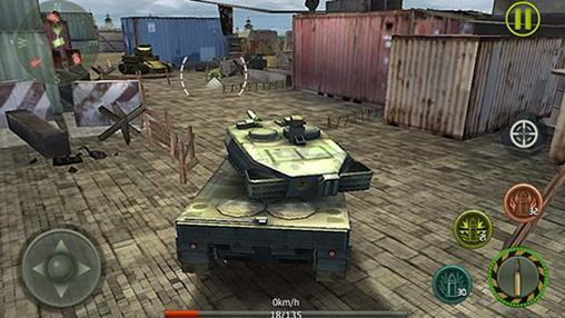 Screenshots von Tank shooting: Survival battle für Android-Tablet, Smartphone.