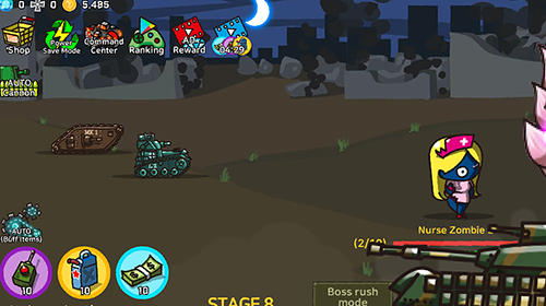 Screenshots do Tank trainer - Perigoso para tablet e celular Android.
