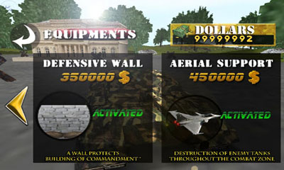 Screenshots von Tank War Defender 2 für Android-Tablet, Smartphone.