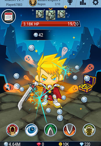 Tap adventure hero screenshot 2