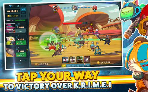Get full version of Android apk app Tap cats: Idle warfare for tablet and phone.