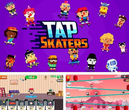 Tap skaters: Downhill skateboard racing