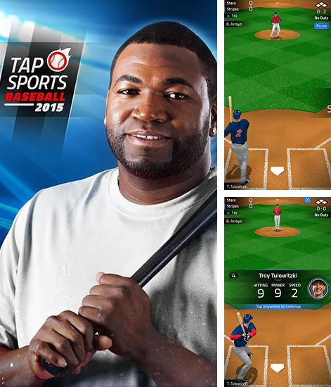 In addition to the game MLB.com Home Run Derby for Android phones and tablets, you can also download Tap sports: Baseball 2015 for free.