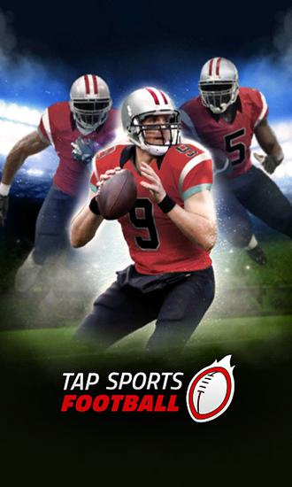 Tap sports: Football poster