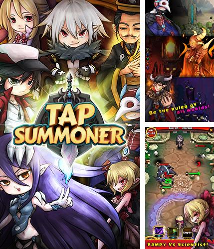 In addition to the game Heroes of tomorrow for Android phones and tablets, you can also download Tap summoner for free.