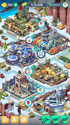 Screenshots von Tap tap capitalist: City idle clicker für Android-Tablet, Smartphone.