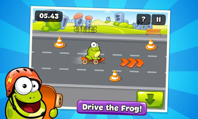 Screenshots von Tap The Frog für Android-Tablet, Smartphone.