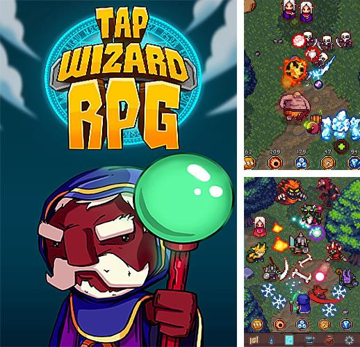 In addition to the game Bungo stray dogs: Tales of the lost for Android phones and tablets, you can also download Tap wizard RPG: Arcane quest for free.