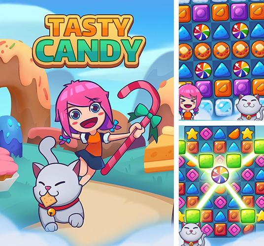 Tasty candy: Match 3 puzzle games