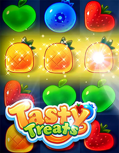 Tasty treats blast: A match 3 puzzle games