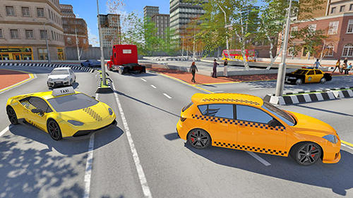 Screenshots von Taxi sim 2019 für Android-Tablet, Smartphone.