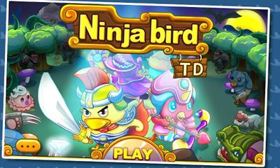 TD Ninja birds Defense poster
