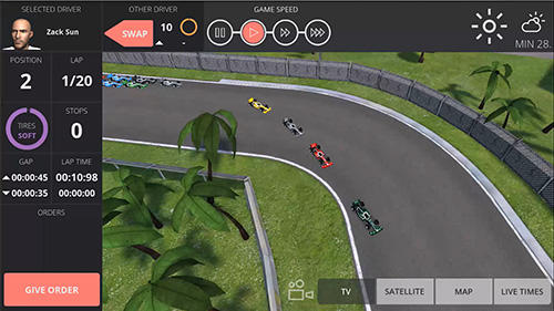 Гра Team order: Racing manager на Android - повна версія.