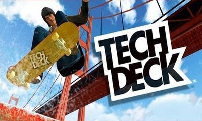 Tech Deck Skateboarding poster