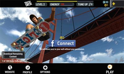 Kostenloses Android-Game Tech Deck Skatboarden. Vollversion der Android-apk-App Hirschjäger: Die Tech Deck Skateboarding für Tablets und Telefone.