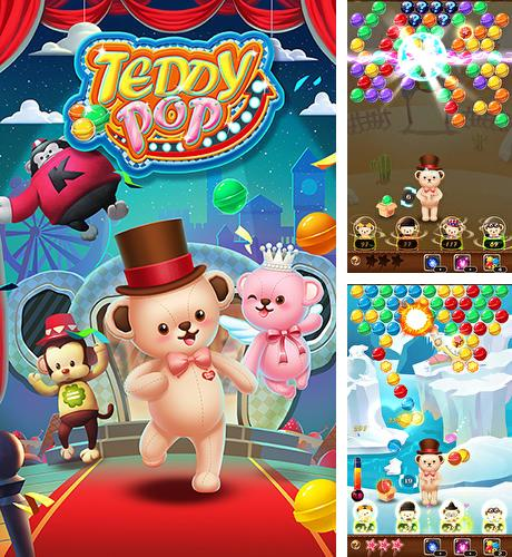 In addition to the game Bunny pop for Android phones and tablets, you can also download Teddy pop: Bubble shooter for free.