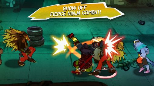 Screenshots von Teenage mutant ninja turtles für Android-Tablet, Smartphone.