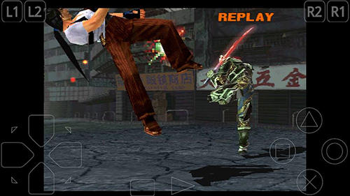 Screenshots do Tekken 3 - Perigoso para tablet e celular Android.