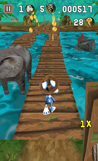 Temple bunny run screenshot 1