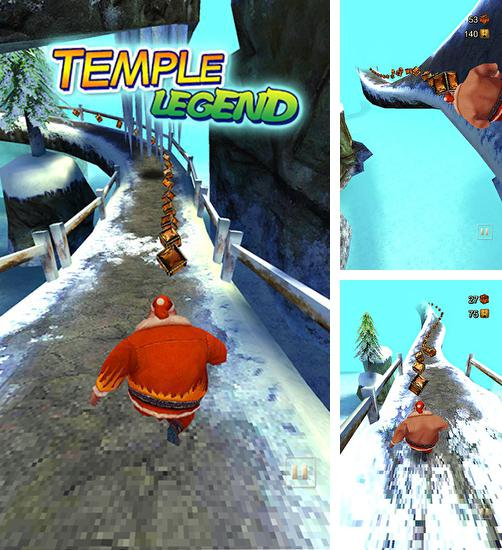 In addition to the game Temple Run for Android phones and tablets, you can also download Temple legend for free.