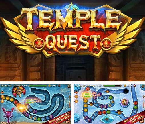 In addition to the game Marble duel for Android phones and tablets, you can also download Temple quest for free.