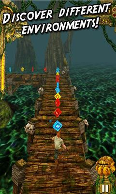 Kostenloses Android-Game Temple Run. Vollversion der Android-apk-App Hirschjäger: Die Temple Run für Tablets und Telefone.