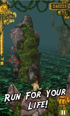 Screenshots von Temple Run für Android-Tablet, Smartphone.