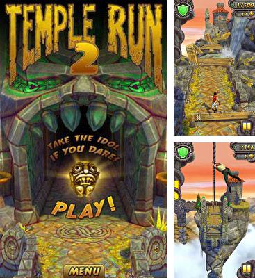 In addition to the game Hill Climb Racing for Android phones and tablets, you can also download Temple Run 2 for free.