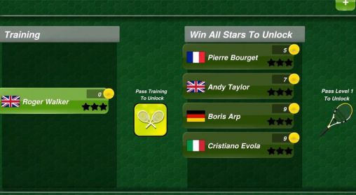 Tennis champion 3D screenshot 2