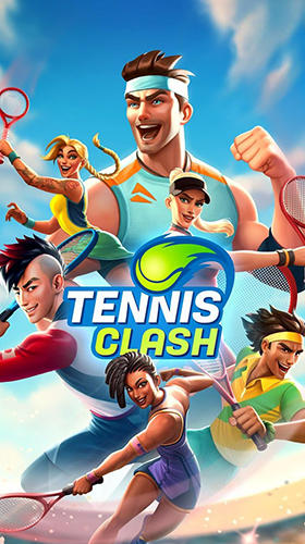 Tennis clash: 3D sports обложка