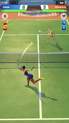 Tennis clash: 3D sports скриншот 2