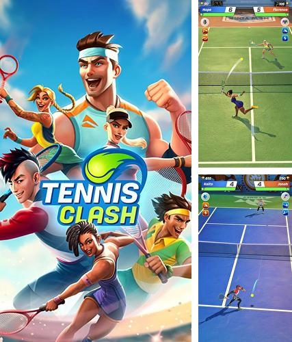Tennis clash: 3D sports