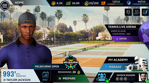 Kostenloses Android-Game Stick Tennis Tour. Vollversion der Android-apk-App Hirschjäger: Die Stick tennis tour für Tablets und Telefone.