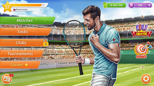 Tennis mania mobile screenshot 1