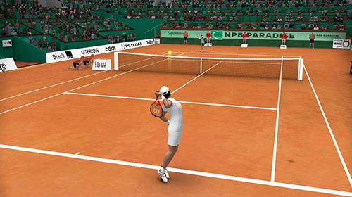 Tennis world open 2019 screenshot 1