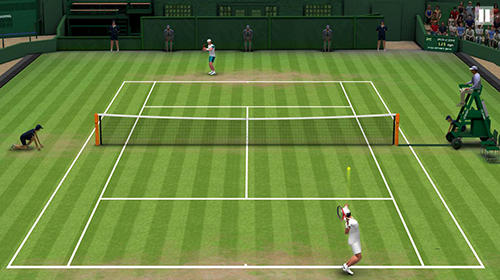 Tennis world open 2019 screenshot 3