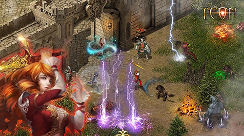 Screenshots do Teon: All fair hardcore ARPG - Perigoso para tablet e celular Android.