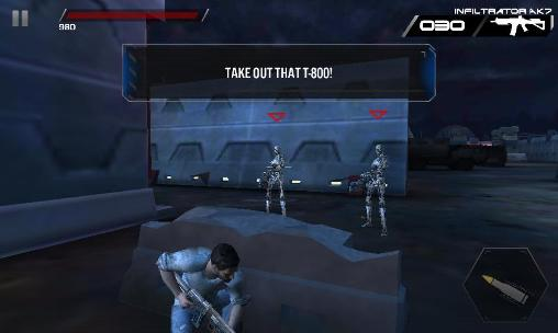 Screenshots do Terminator genisys: Revolution - Perigoso para tablet e celular Android.