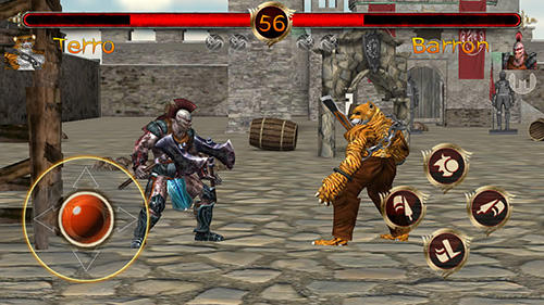 Screenshots von Terra fighter 2: Fighting games für Android-Tablet, Smartphone.
