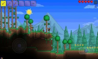 Screenshots von Terraria für Android-Tablet, Smartphone.