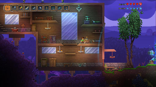 Screenshots von Terraria: Otherworld für Android-Tablet, Smartphone.