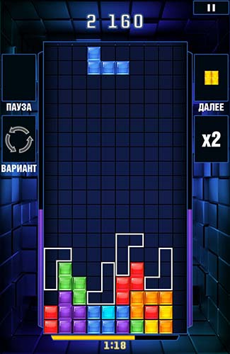 Tetris blitz screenshot 1
