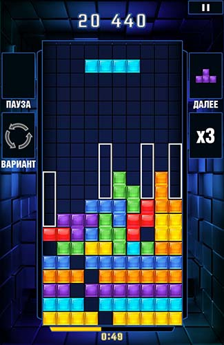 Tetris blitz screenshot 2