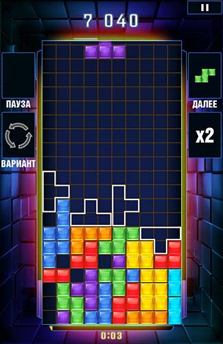 Tetris blitz screenshot 5